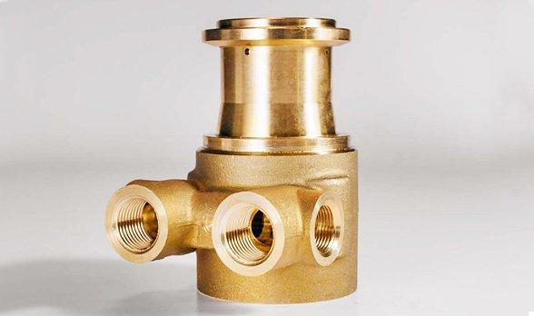 CNC Milling Brass Parts