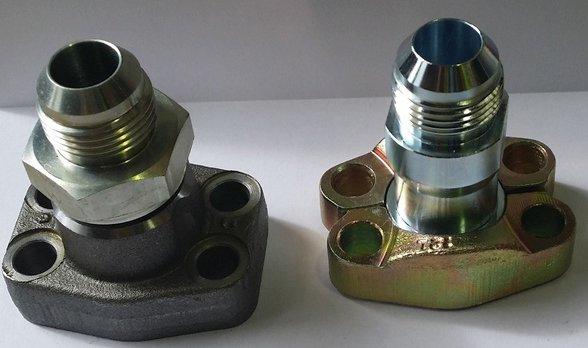 CNC milling thread connector