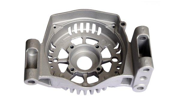 CNC turning aluminum casting