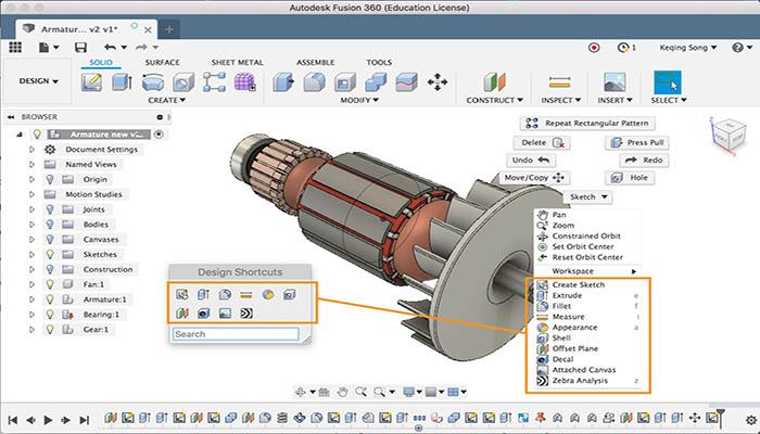 CNC Design Interface