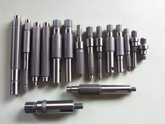 Different Finishing for CNC Shaft