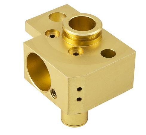 Machined Brass Part