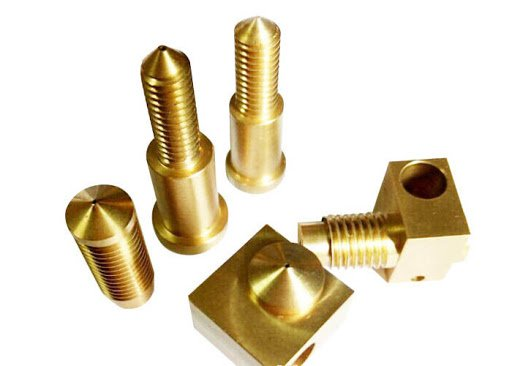 Custom CNC Brass Part